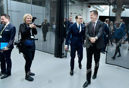 Anders Ygeman, Minister for Energy and Digital Development, and Prince Daniel