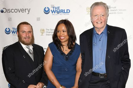 Editorial image of 7th Annual Champions of Jewish Values International Awards Gala, Arrivals, New York, USA - 28 Mar 2019