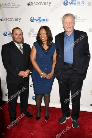 Editorial picture of 7th Annual Champions of Jewish Values International Awards Gala, Arrivals, New York, USA - 28 Mar 2019