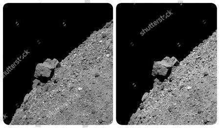 Editorial image of Artsy Asteroids - 02 Dec 2018