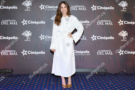 Editorial photo of 'La Herencia del Mal' film photocall, Mexico City, Mexico - 28 Mar 2019