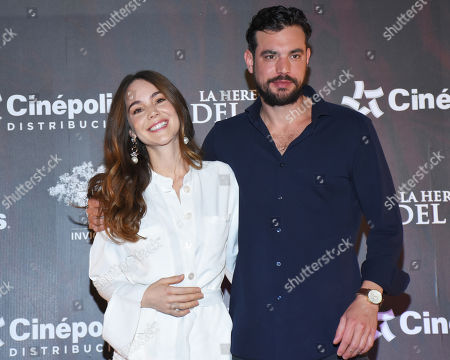 Editorial picture of 'La Herencia del Mal' film photocall, Mexico City, Mexico - 28 Mar 2019