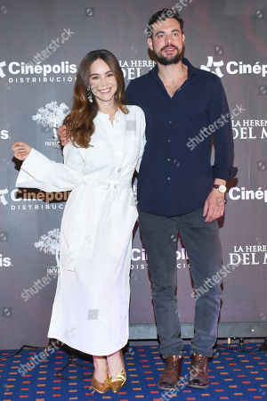 Stock Picture of Camila Sodi and Juan Pablo Castaneda