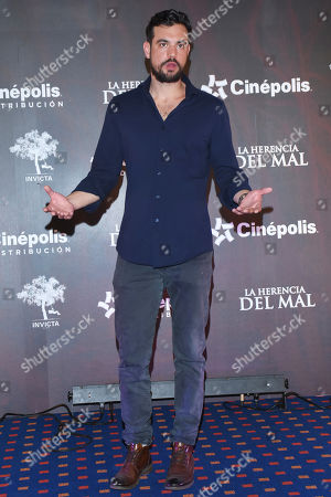 Editorial image of 'La Herencia del Mal' film photocall, Mexico City, Mexico - 28 Mar 2019