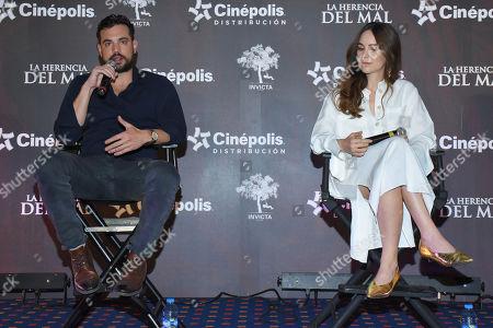 Editorial photo of 'La Herencia del Mal' film photocall, Mexico City, Mexico - 28 Mar 2019