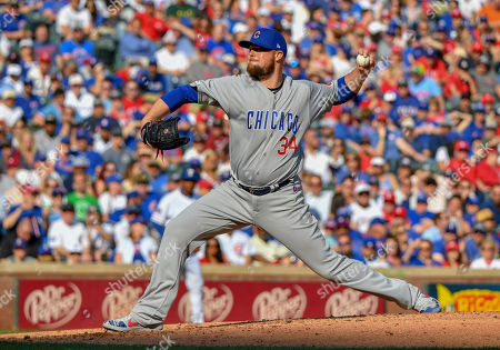 fd181aa3cbf Chicago Cubs starting pitcher Jon Lester  34 pitched 6 innings and gave up  2 earned