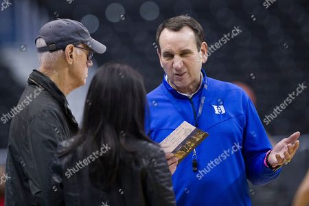Bob Fishman, Mike Krzyzewski, Tracy Wolfson. CBS director Bob Fishman, left, talks with Duke head coach Mike Krzyzewski, and CBS' Tracy Wolfson during an NCAA men's college basketball practice in Washington, . Fishman is in his 28th year as lead director of CBS Sports NCAA Men's Basketball Championship and Final Four coverage