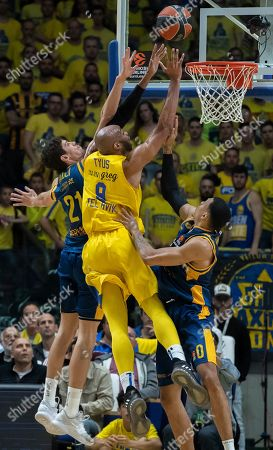Editorial picture of Maccabi Fox Tel Aviv vs Herbalife Gran Canaria, Israel - 28 Mar 2019