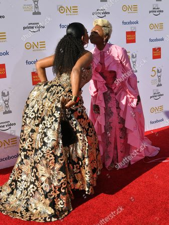 Stock Picture of Sheryl Lee Ralph and Cynthia Erivo
