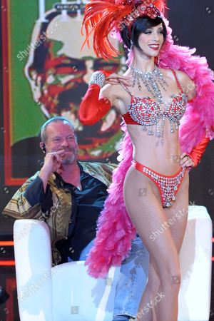 Terry Gilliam and dancer Nora Mogalle
