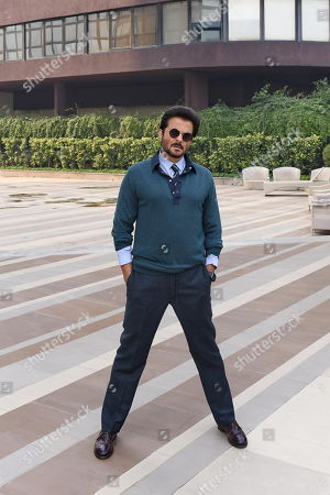Editorial image of Anil Kapoor portrait session, New Delhi, India - 28 Mar 2019