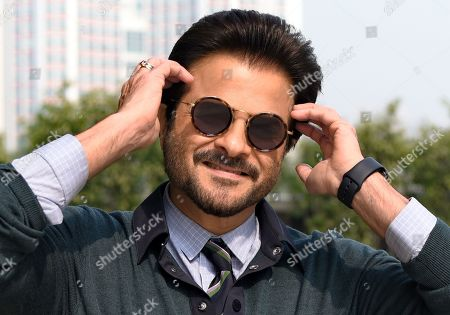 Editorial photo of Anil Kapoor portrait session, New Delhi, India - 28 Mar 2019
