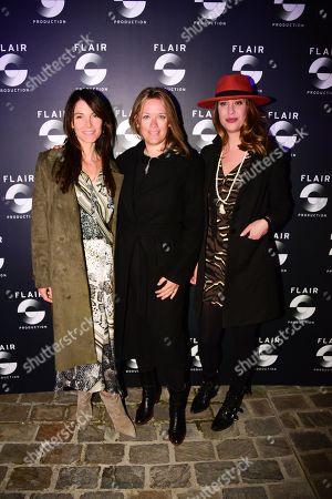 Laetitia Fourcade, Caroline Faindt, Aline Gaillot