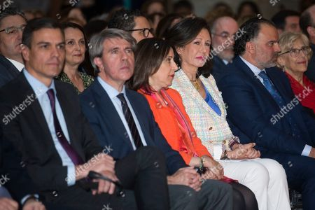 Pedro Sanchez, Angel Garrido, Margarita Robles and Ana Patricia Botin
