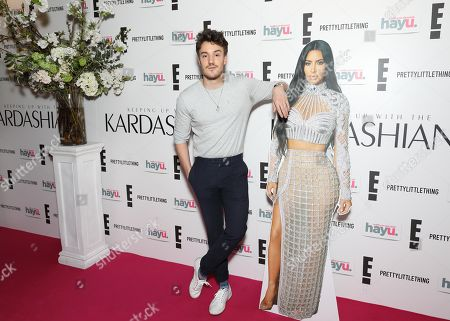 James Stewart attends an exclusive screening event in London for the new season of Keeping Up with the Kardashians, coming to E! and hayu this April.