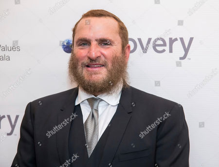 Rabbi Shmuley Boteach attends the Champions of Jewish Values International Awards gala at Carnegie Hall, in New York