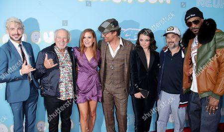 Zac Efron, Jimmy Buffett, Harmony Korine, Isla Fisher, Matthew McConaughey, Stefania LaVie Owen and Snoop Dogg