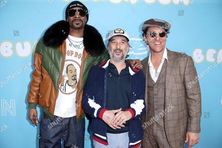 Snoop Dogg, Harmony Korine and Matthew McConaughey