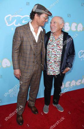 Matthew McConaughey and Jimmy Buffett