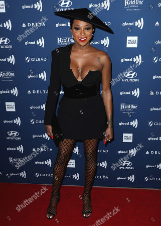 Editorial picture of 30th Annual GLAAD Media Awards, Arrivals, The Beverly Hilton, Los Angeles, USA - 28 Mar 2019