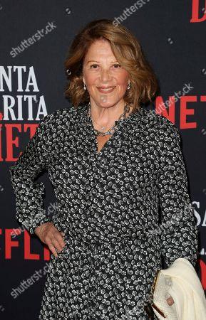 "Linda Lavin arrives at the LA Premiere of ""Santa Clarita Diet"" Season 3 at the Hollywood American Legion Post 43, in Los Angeles"