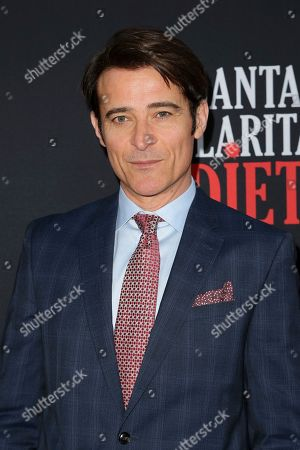 "Goran Visnjic arrives at the LA Premiere of ""Santa Clarita Diet"" Season 3 at the Hollywood American Legion Post 43, in Los Angeles"
