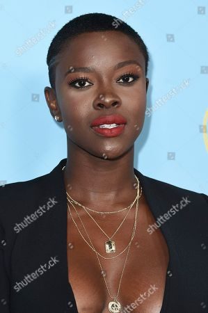 """Stock Image of Janicza Bravo attends the LA Premiere of """"The Beach Bum"""" at ArcLight Hollywood, in Los Angeles"""
