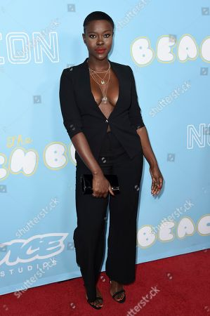 """Janicza Bravo attends the LA Premiere of """"The Beach Bum"""" at ArcLight Hollywood, in Los Angeles"""