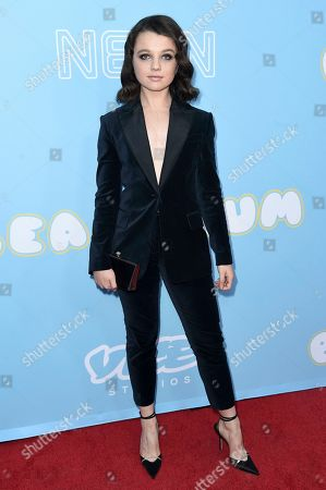"""Stefania LaVie Owen attends the LA Premiere of """"The Beach Bum"""" at ArcLight Hollywood, in Los Angeles"""