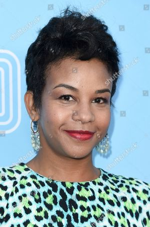 """Stock Picture of Aasha Davis attends the LA Premiere of """"The Beach Bum"""" at ArcLight Hollywood, in Los Angeles"""