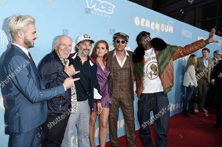 Zac Efron, Jimmy Buffett, Harmony Korine, Isla Fisher, Matthew McConaughey, Snoop Dogg