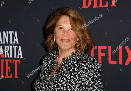 "Stock Image of Linda Lavin arrives at the LA Premiere of ""Santa Clarita Diet"" Season 3 at the Hollywood American Legion Post 43, in Los Angeles"