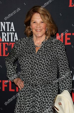 """Stock Picture of Linda Lavin arrives at the LA Premiere of """"Santa Clarita Diet"""" Season 3 at the Hollywood American Legion Post 43, in Los Angeles"""