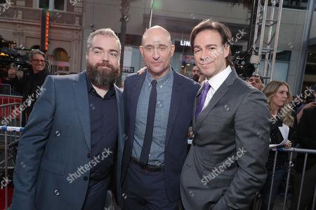 David Sandberg, Director, Mark Strong, Peter Safran, Producer,