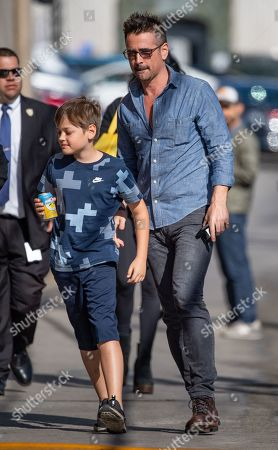 Colin Farrell and son Henry
