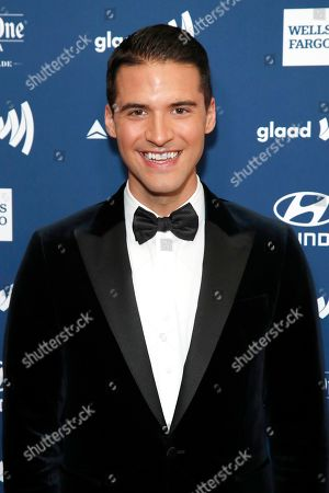 Raymond Braun arrives for the 30th Annual GLAAD Media Awards at the Beverly Hilton Hotel in Beverly Hills, California, USA, 28 March 2019. The 30th annual GLAAD Media Awards, presented by the Gay and Lesbian Alliance Against Defamation recognize and honor media for their fair, accurate and inclusive representations of the LGBTQ (lesbian, gay, bisexual, transgender and queer) community and the issues that affect their lives.
