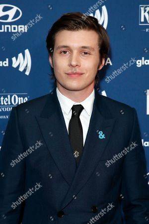 Nick Robinson arrives for the 30th Annual GLAAD Media Awards at the Beverly Hilton Hotel in Beverly Hills, California, USA, 28 March 2019. The 30th annual GLAAD Media Awards, presented by the Gay and Lesbian Alliance Against Defamation recognize and honor media for their fair, accurate and inclusive representations of the LGBTQ (lesbian, gay, bisexual, transgender and queer) community and the issues that affect their lives.