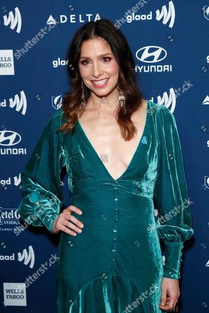 Shoshannah Stern arrives during the 30th Annual GLAAD Media Awards at the Beverly Hilton Hotel in Beverly Hills, California, USA, 28 March 2019. The 30th annual GLAAD Media Awards, presented by the Gay and Lesbian Alliance Against Defamation recognize and honor media for their fair, accurate and inclusive representations of the LGBTQ (lesbian, gay, bisexual, transgender and queer) community and the issues that affect their lives.
