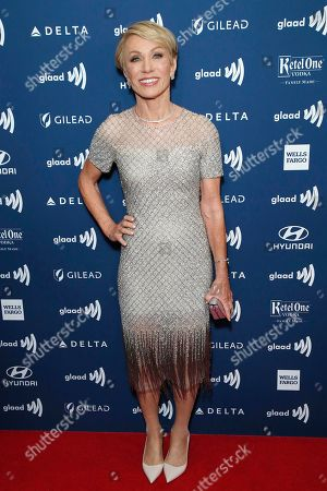 Barbara Corcoran arrives during the 30th Annual GLAAD Media Awards at the Beverly Hilton Hotel in Beverly Hills, California, USA, 28 March 2019. The 30th annual GLAAD Media Awards, presented by the Gay and Lesbian Alliance Against Defamation recognize and honor media for their fair, accurate and inclusive representations of the LGBTQ (lesbian, gay, bisexual, transgender and queer) community and the issues that affect their lives.