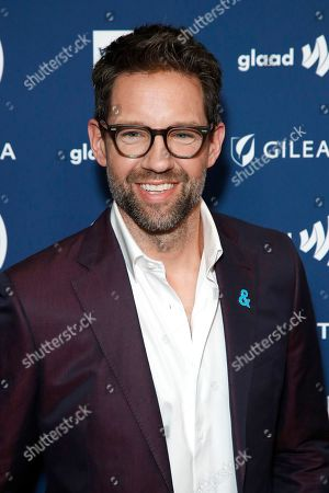 Todd Grinnell arrives during the 30th Annual GLAAD Media Awards at the Beverly Hilton Hotel in Beverly Hills, California, USA, 28 March 2019. The 30th annual GLAAD Media Awards, presented by the Gay and Lesbian Alliance Against Defamation recognize and honor media for their fair, accurate and inclusive representations of the LGBTQ (lesbian, gay, bisexual, transgender and queer) community and the issues that affect their lives.