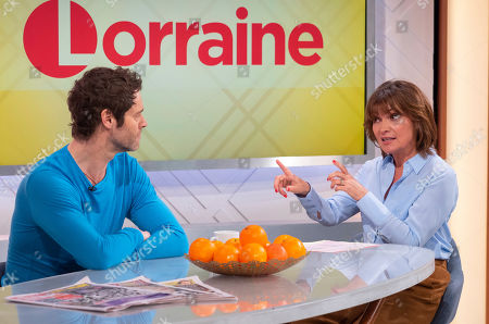 Howard Donald and Lorraine Kelly