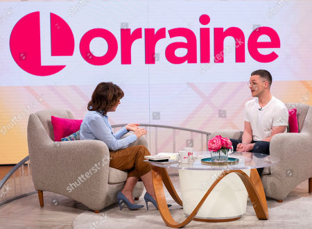 Lorraine Kelly and David Ames