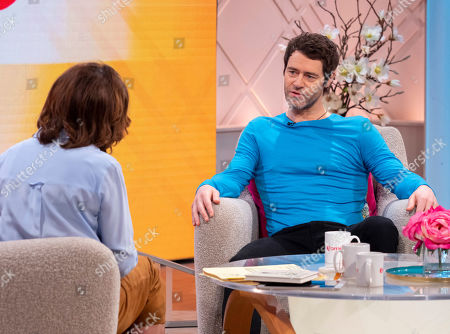 Lorraine Kelly and Howard Donald