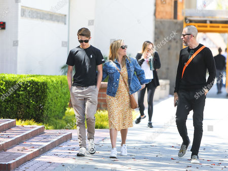 Reese Witherspoon, her son Deacon Phillippe and Jim Toth