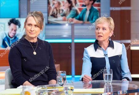 Stock Picture of Karen Doherty and Rosie Millard