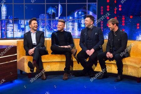 Shane Filan, Nicky Byrne, Mark Feehily, Kian Egan