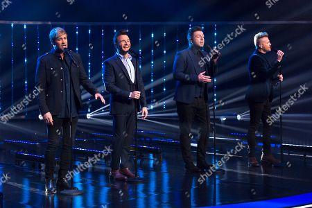 Shane Filan, Nicky Byrne, Mark Feehily, Kian Egan, Westlife
