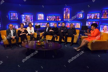 Adrian Dunbar, Vicky McClure, Dani Dyer, Shane Filan, Nicky Byrne, Mark Feehily, Kian Egan