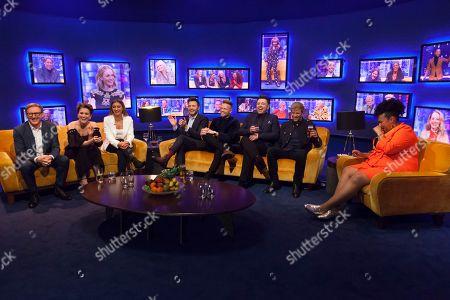 Adrian Dunbar, Vicky McClure, Dani Dyer, Shane Filan, Nicky Byrne, Mark Feehily, Kian Egan, Desiree Burch