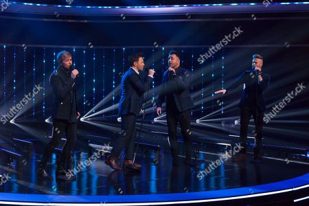 Editorial image of 'The Jonathan Ross Show' TV show, Series 14, Episode 5, London, UK - 30 Mar 2019